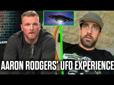 Aaron Rodgers Tells Pat McAfee About His UFO Experience