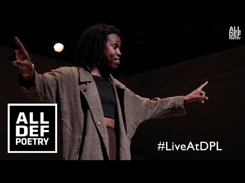"""Alyesha Wise - """"To Black Women""""   All Def Poetry x Da Poetry Lounge"""