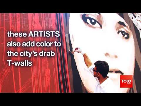 Kabul's ArtLords turn the capital into a city of murals Afghanistan