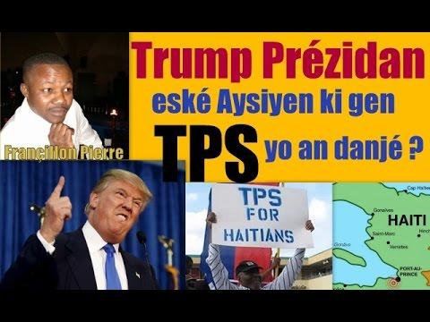 Eské Aysiyen ki gen TPS yo an danjé ak Donald Trump kòm prézidan Ozétazini