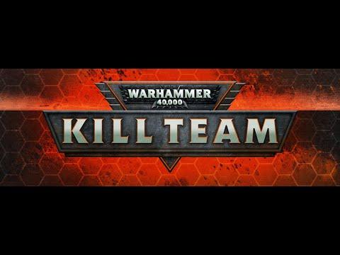 Warhammer 40k Kill Team Battle Report: Adeptus Custodes vs Imperial Fists |