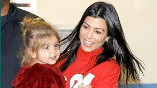 Kourtney Kardashian Goes To Late-Night Music Sessions With Her Kids