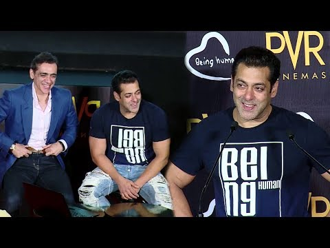 Salman Khan's Being Human In Association With PVR Chairman - Rs.2 For Being Human
