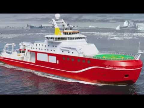 Work begins on £200m Attenborough polar ship