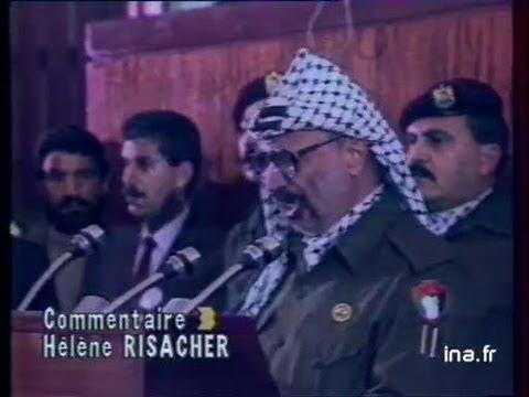 15 novembre 1988 : la Palestine proclame son indépendance à Alger
