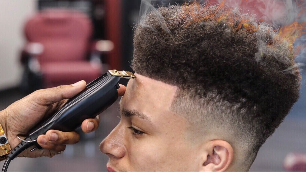 haircut tutorial nudred drop fade
