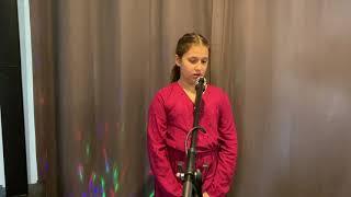 Charlotte singing Billie Eilish's LOVELY