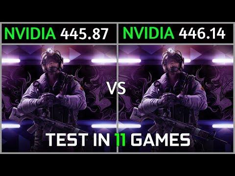Nvidia Drivers 445.87