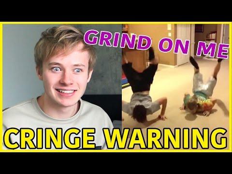 Reacting to Old CRINGY Videos | Sam Golbach