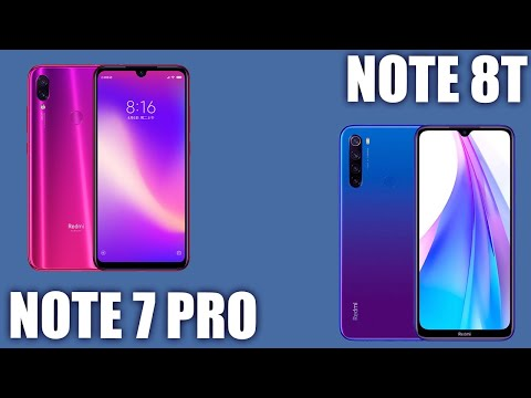 Redmi Note 8T Vs Xiaomi Redmi Note 7 Pro. Посмотрим есть ли разница?