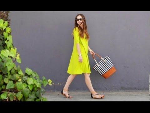 Как сшить летнее платье в горошек Ольга Никишичева