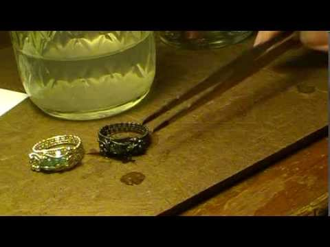 How to Oxidize Sterling Silver with Midas Black Max