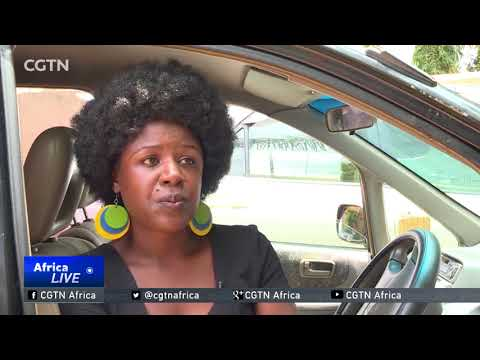 Women leave corporate jobs for cabs in Uganda