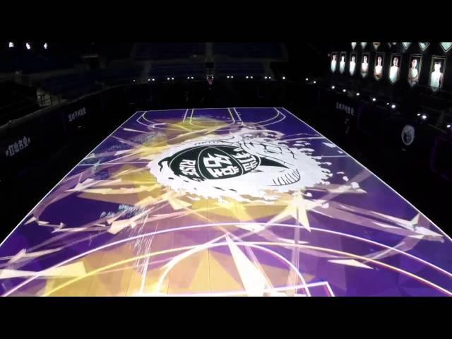 Nike LED Basketball Court - The Awesomer