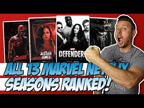 All 13 Marvel Netflix Seasons Ranked!