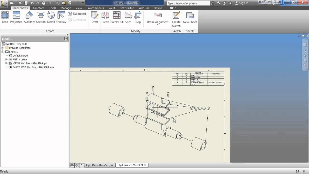 Autodesk inventor tutorial gear housing youtube.