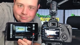 Remote Control my Canon 5D Mark III w/ DSLR Controller on Google Nexus 7 Android Tablet(Please Like, Favorite & Subscribe if you enjoy this video! Come talk to me (do it!) http://facebook.barnnerd.com http://twitter.barnnerd.com Want a T-Shirt or ..., 2013-08-31T07:43:15.000Z)