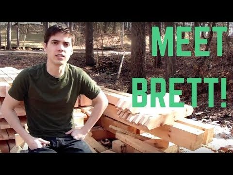 Timber Frame Interview With Brett - From The Timber Frame Project!