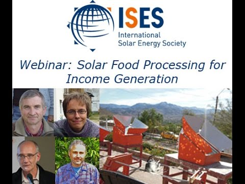 Webinar: Solar Food Processing for Income Generation