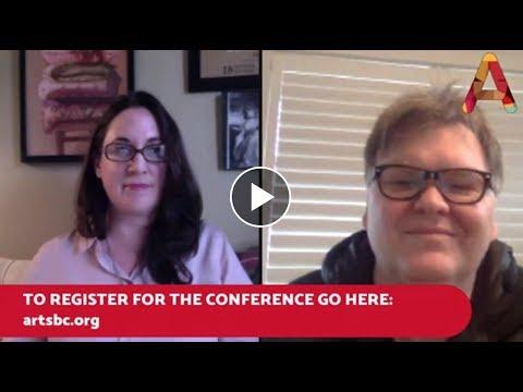 Arts BC Fb Live with Patricia Huntsman