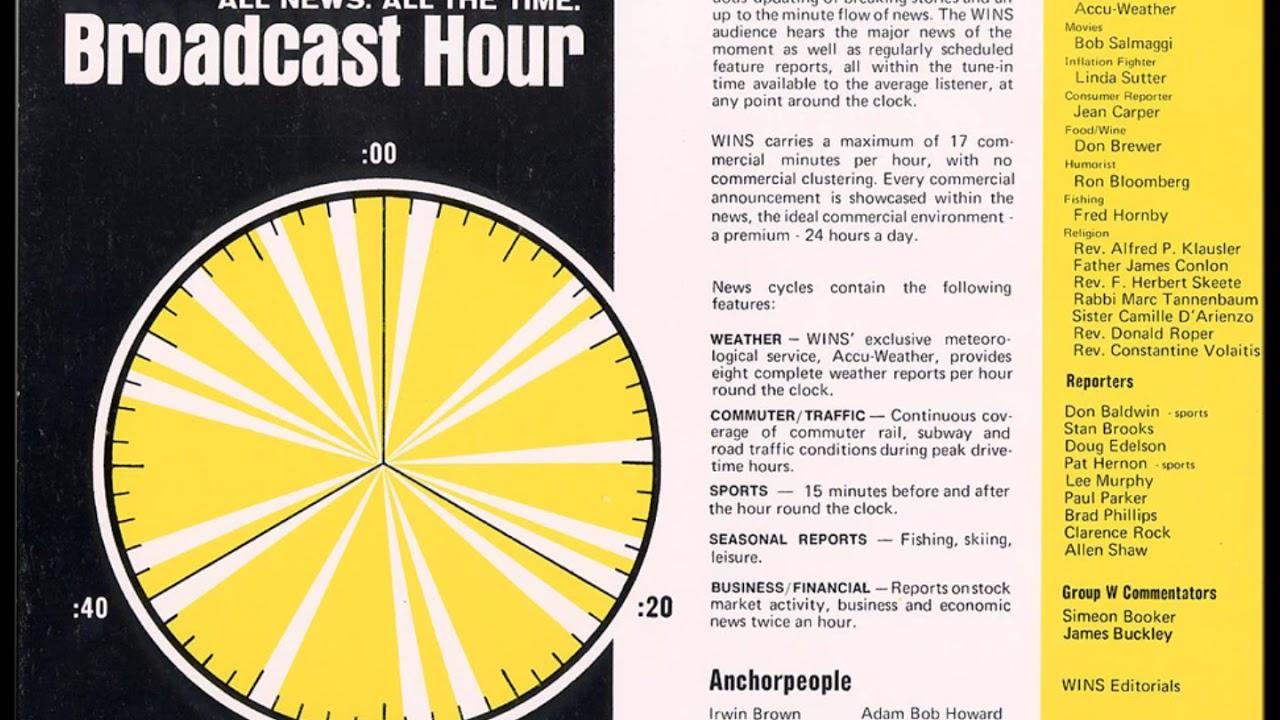 September 30, 1978-1010 WINS Newsradio Aircheck