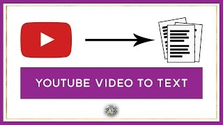 Transcribe youtube video to text in less than 1 minute