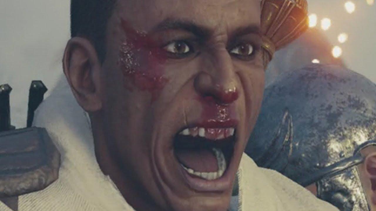 Assassin S Creed Origins Septimius Boss Bayek Goes Savage