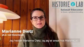 Marianne Dietz om rollespillets betydning i historieundervisningen