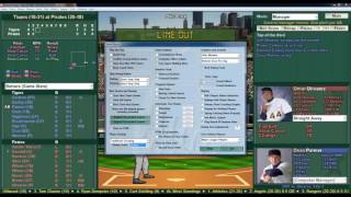 2016 Baseball Mogul 2001 Season Game Detroit Tigers vs Pittsburgh Pirates