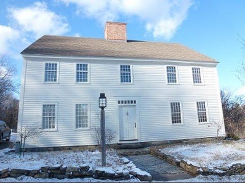 Antique New England Farm Home Authentically Restored