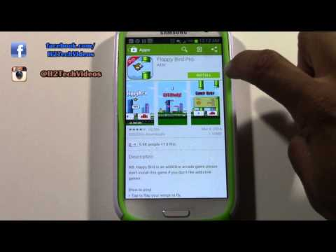 Galaxy S3 - How to Download Games & Apps | H2TechVideos
