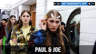 Paris Fashion Week Fall/WItner 2017-18 - Paul & Joe Hairstyle | FTV.com