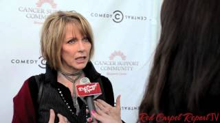 Susan Blakely at the 2nd Fresh Canvas Party #CancerSupportLA @Susan_Blakely