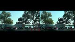 3DVIDEO USA michigan walled lake driveミシガン ウォードレイク