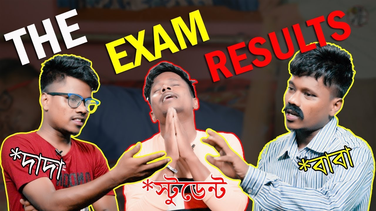 The Exam Results | Madhyamik & HS Result 2018 Bangla Funny Video |  KhilliBuzzChiru