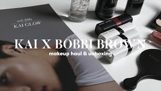 KAI x BobbiBrown 🐻💄 Makeup Haul & Unboxing