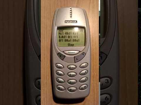 Neon Genesis Evangelion on Nokia 3310
