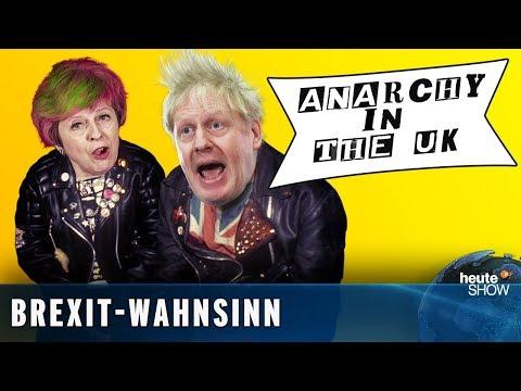 Brexit in der Sackgasse: Kommt der Austritt ohne Deal? | heute-show vom 01.02.2019