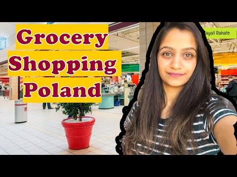 Grocery Shopping In Poland | Costly Indian Alcohol in Poland | Polish Supermarket Warsaw Polandvlogs