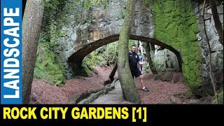 Rock City Gardens [Part 1] tourist attraction opened in 1932   Jarek in Lookout Mountain Georgia USA