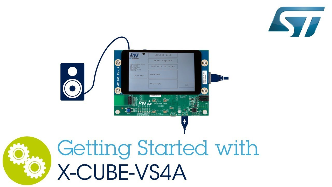 Getting started with XCUBE VS4A and STM32F769 discovery kit (Alexa Voice  Service)