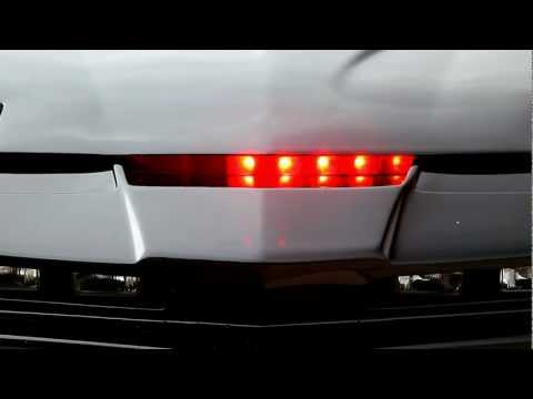 Knight Rider Scanner Motion with Theme Tune