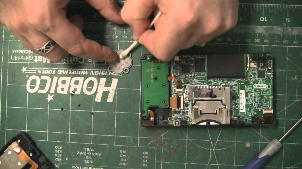 nintendo dsi d pad repair diy hd youtube rh youtube com Nintendo DSi XL Nintendo GameCube