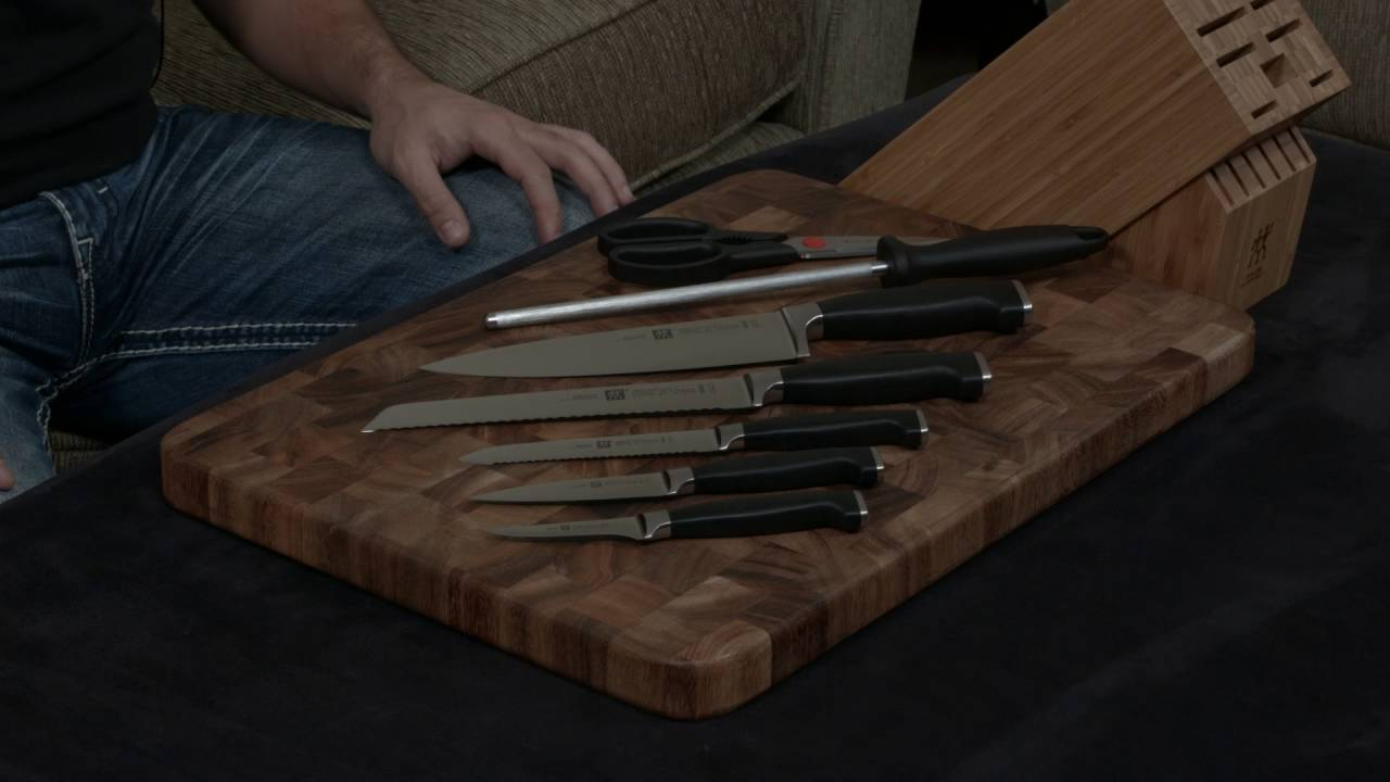 zwilling twin four star ii 8 piece knife set u2014 review and