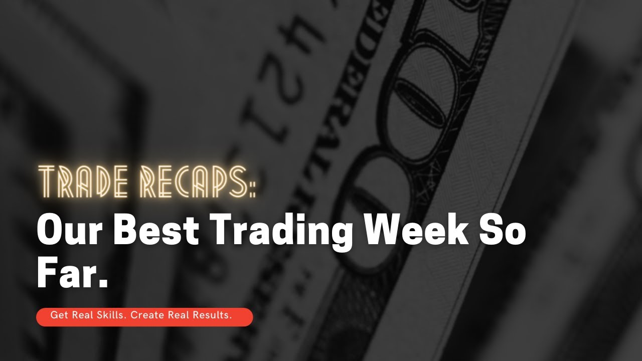 Trade Recaps First Week of February (Forex profit!)