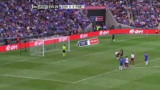 Kevin Prince Boateng misses penalty - FA Cup Final 15th May 2010 - HQ HD