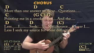 Closer to Fine (Indigo Girls) Bariuke Cover Lesson in G with Chords/Lyrics