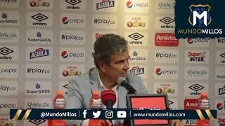 Rueda de prensa América 1-1 Millonarios (21/04/2019)