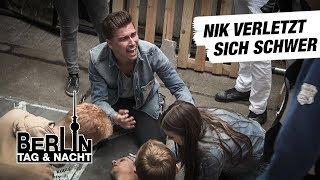 Berlin - Tag & Nacht - Unfall-Drama um Nik #1728 - RTL II