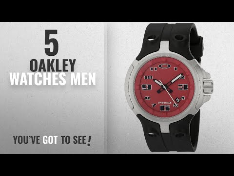 Top 10 Oakley Watches Men [ Winter 2018 ]: Oakley Men's 26-316 Bottle Cap Analog Display Swiss